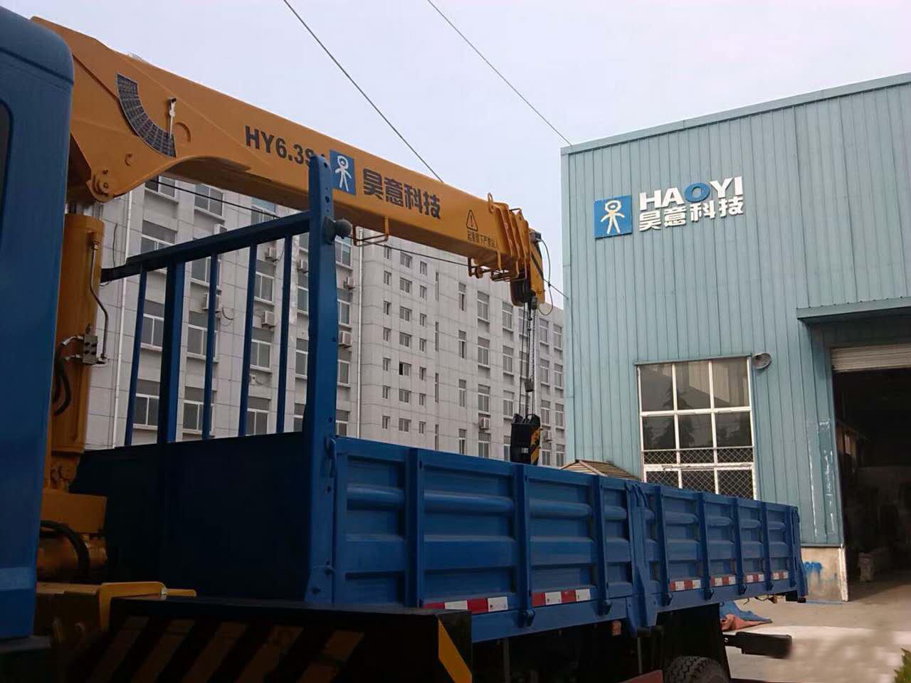 东风8吨随车吊