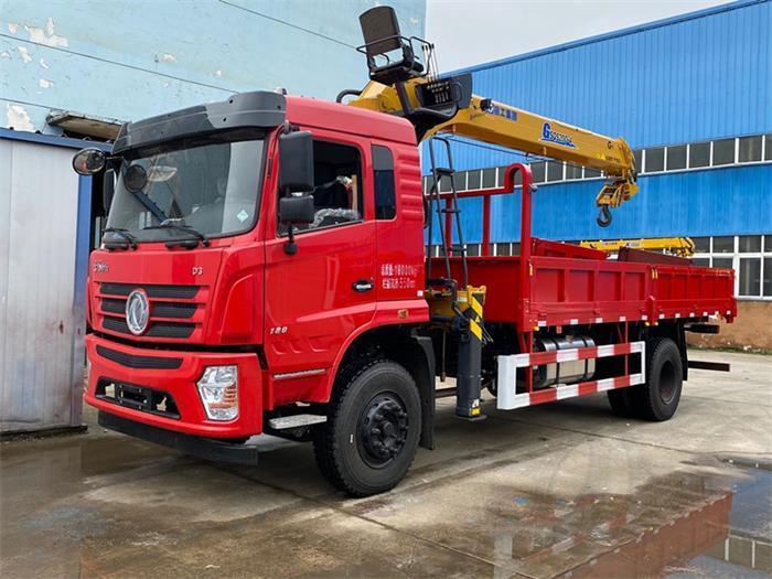 东风D3新款随车吊专用底盘配置_车厢几米_适合装几吨吊