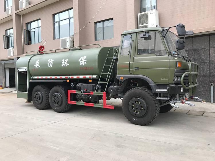 绿化消防洒水车市场应用前景