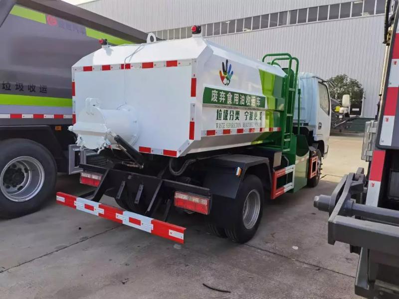6方多利卡废弃食用油收运车 收运车生产厂家详细介绍
